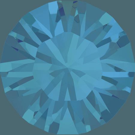 Swarovski 1028 – Xilion Chaton, Caribbean Blue Opal