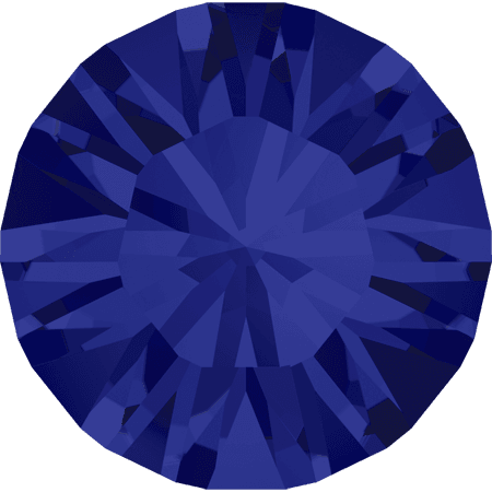Swarovski 1028 – Xilion Chaton, Dark Indigo