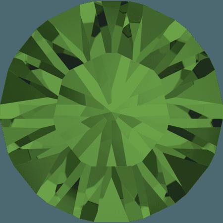 Swarovski 1028 – Xilion Chaton, Fern Green