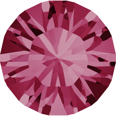 Swarovski 1028 – Xilion Chaton, Indian Pink