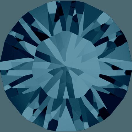Swarovski 1028 – Xilion Chaton, Indicolite