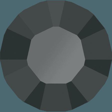 Swarovski 1028 – Xilion Chaton, Jet Hematite