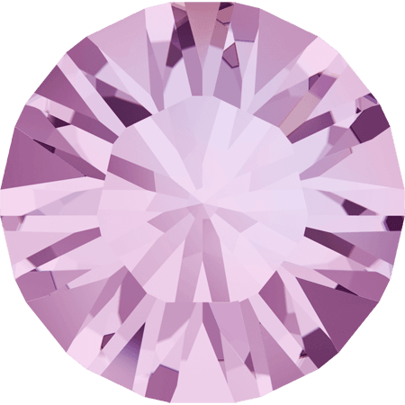 Swarovski 1028 – Xilion Chaton, Light Amethyst