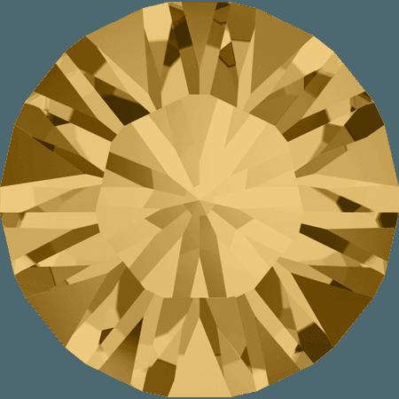 Swarovski 1028 – Xilion Chaton, Light Colorado Topaz