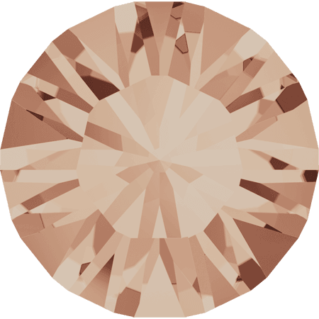 Swarovski 1028 – Xilion Chaton, Light Peach