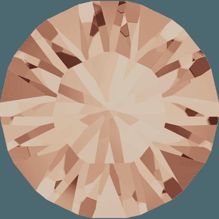 Swarovski 1028 – Xilion Chaton, Light Peach