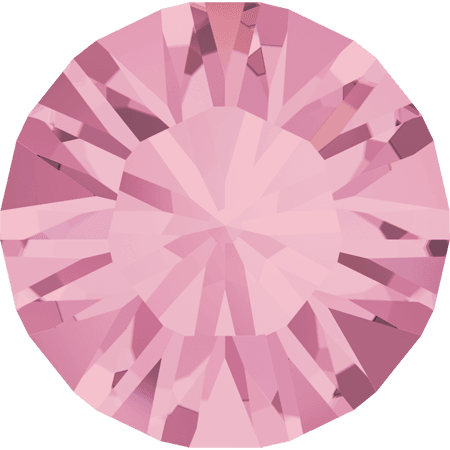 Swarovski 1028 – Xilion Chaton, Light Rose