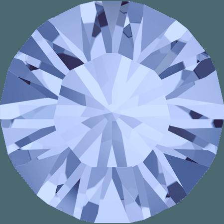 Swarovski 1028 – Xilion Chaton, Light Sapphire