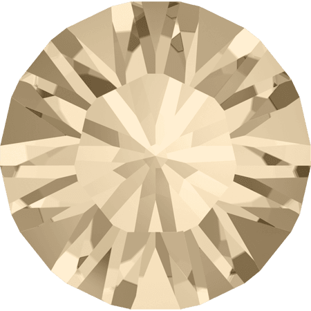 Swarovski 1028 – Xilion Chaton, Light Silk