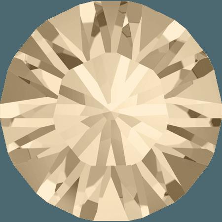 Swarovski 1028 – Xilion Chaton, Light Silk