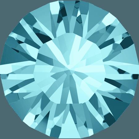 Swarovski 1028 – Xilion Chaton, Light Turquoise