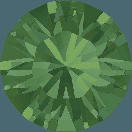Swarovski 1028 – Xilion Chaton, Palace Green Opal