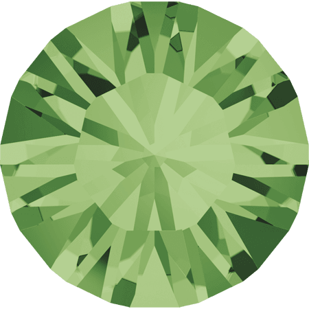 Swarovski 1028 – Xilion Chaton, Peridot