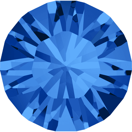 Swarovski 1028 – Xilion Chaton, Sapphire