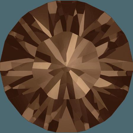 Swarovski 1028 – Xilion Chaton, Smoked Topaz