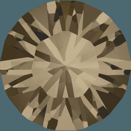 Swarovski 1028 – Xilion Chaton, Smoky Quartz