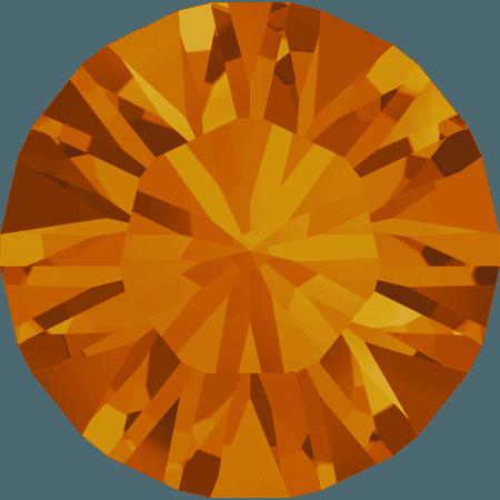Swarovski 1028 – Xilion Chaton, Tangerine