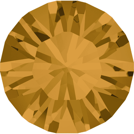 Swarovski 1028 – Xilion Chaton, Topaz