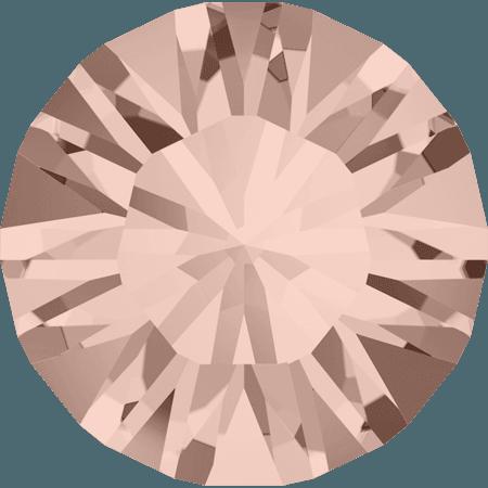 Swarovski 1028 – Xilion Chaton, Vintage Rose