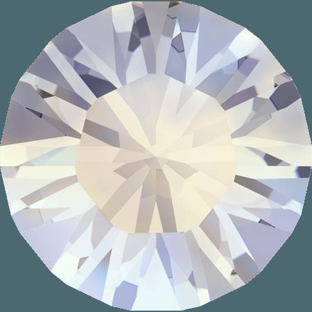 Swarovski 1028 – Xilion Chaton, White Opal