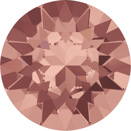 Swarovski 1088 - XIRIUS Chaton, Blush Rose
