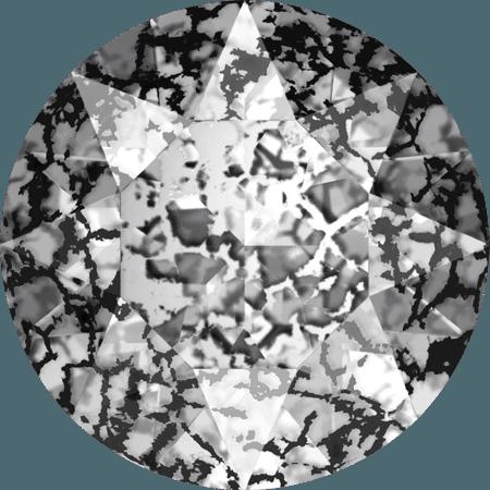 Swarovski 1088 – XIRIUS Chaton, Crystal Black Patina