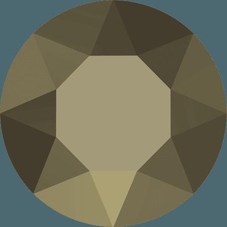 Swarovski 1088 – XIRIUS Chaton, Crystal Metallic Light Gold