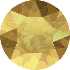 Swarovski 1088 – XIRIUS Chaton, Crystal Metallic Sunshine