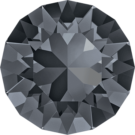 Swarovski 1088 – XIRIUS Chaton, Crystal Silver Night