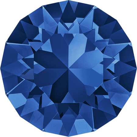 Swarovski 1088 – XIRIUS Chaton, Capri Blue