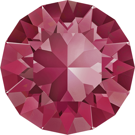Swarovski 1088 – XIRIUS Chaton, Indian Pink