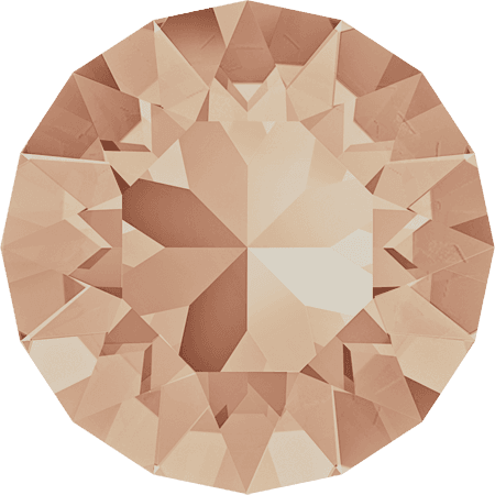 Swarovski 1088 – XIRIUS Chaton, Light Peach