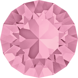 Swarovski 1088 – XIRIUS Chaton, Light Rose