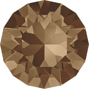 Swarovski 1088 – XIRIUS Chaton, Light Smoked Topaz