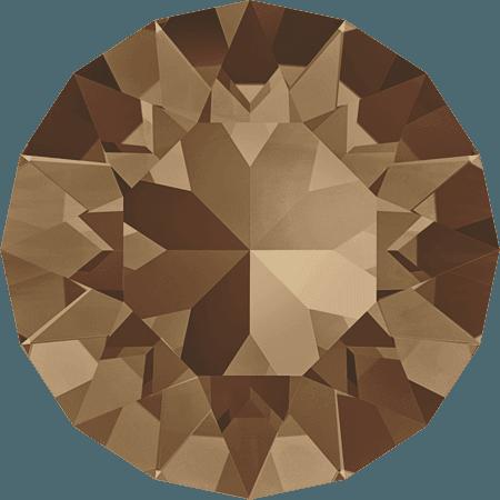 Swarovski 1088 – XIRIUS Chaton, Light Smoked Topaz