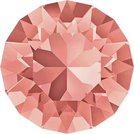 Swarovski 1088 – XIRIUS Chaton, Rose Peach