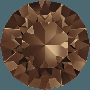Swarovski 1088 – XIRIUS Chaton, Smoked Topaz