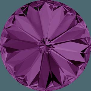 Swarovski 1122 – Rivoli Chaton, Amethyst