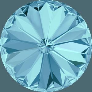 Swarovski 1122 – Rivoli Chaton, Aquamarine