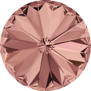 Swarovski 1122 – Rivoli Chaton, Blush Rose