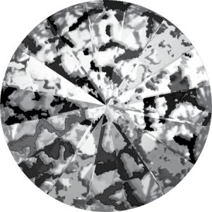 Swarovski 1122 CR Black Patina