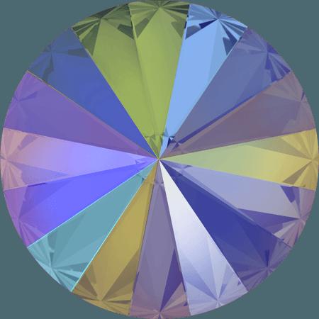 Swarovski 1122 – Rivoli Chaton, Crystal Paradise Shine