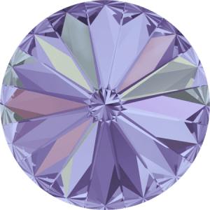 Swarovski 1122 – Rivoli Chaton, Crystal Vitrail Light