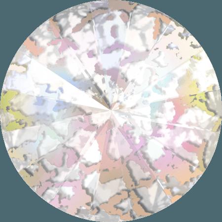 Swarovski 1122 – Rivoli Chaton, Crystal White Patina