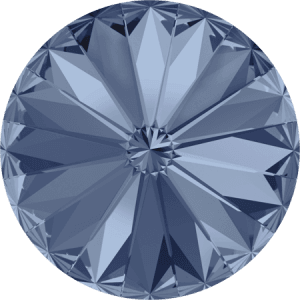 Swarovski 1122 – Rivoli Chaton, Denim Blue
