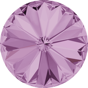 Swarovski 1122 – Rivoli Chaton, Light Amethyst