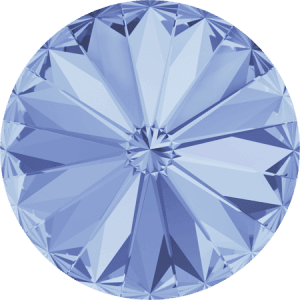 Swarovski 1122 – Rivoli Chaton, Light Sapphire