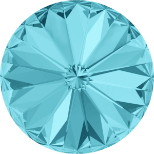 Swarovski 1122 – Rivoli Chaton, Light Turquoise