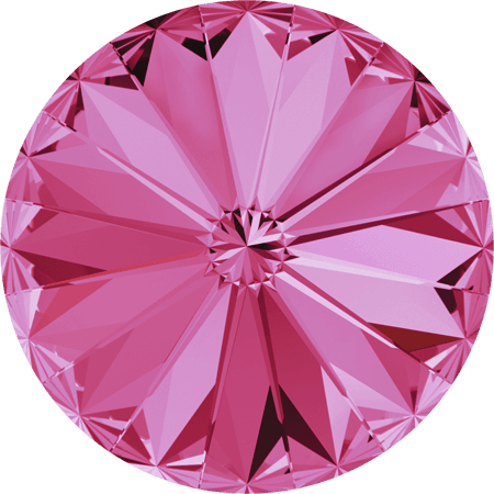 Swarovski 1122 – Rivoli Chaton, Rose