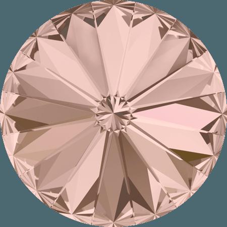 Swarovski 1122 – Rivoli Chaton, Vintage Rose